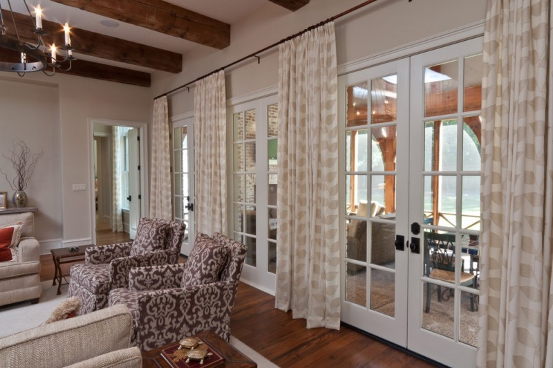 Marvelous Curtains For French Doors To Be Inspired By Decohoms