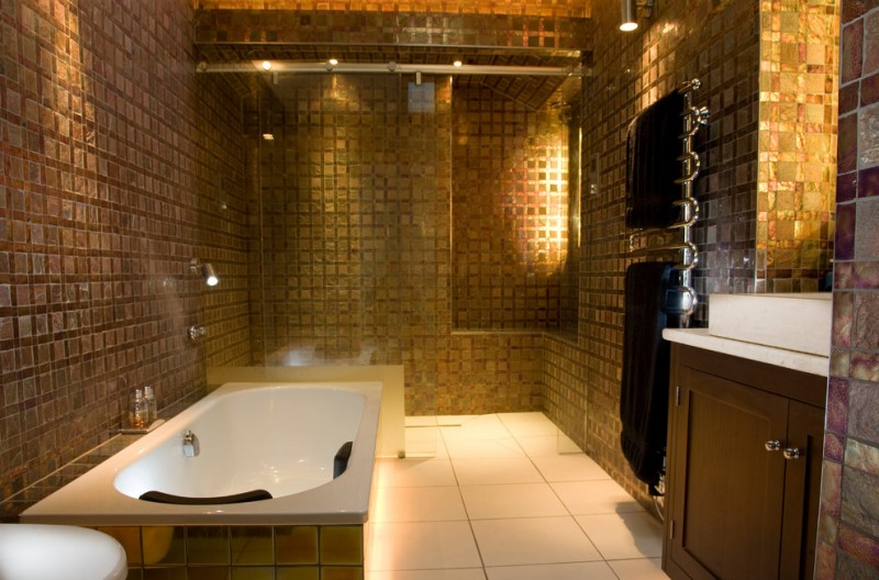 Ten Elegant Gold Bathroom Ideas To Be Amazed By Decohoms