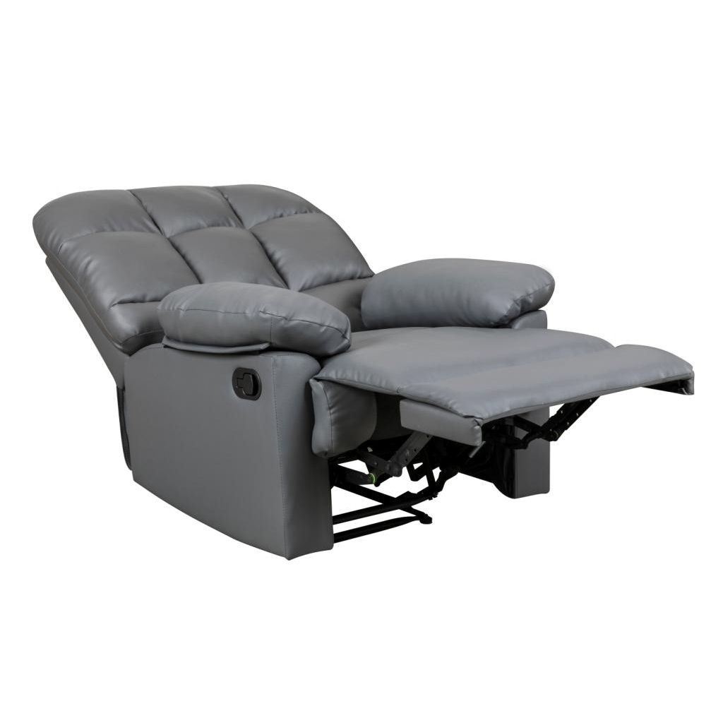 DECO IN PARIS Fauteuil Relax Gris Jimmy Jimmy Relax