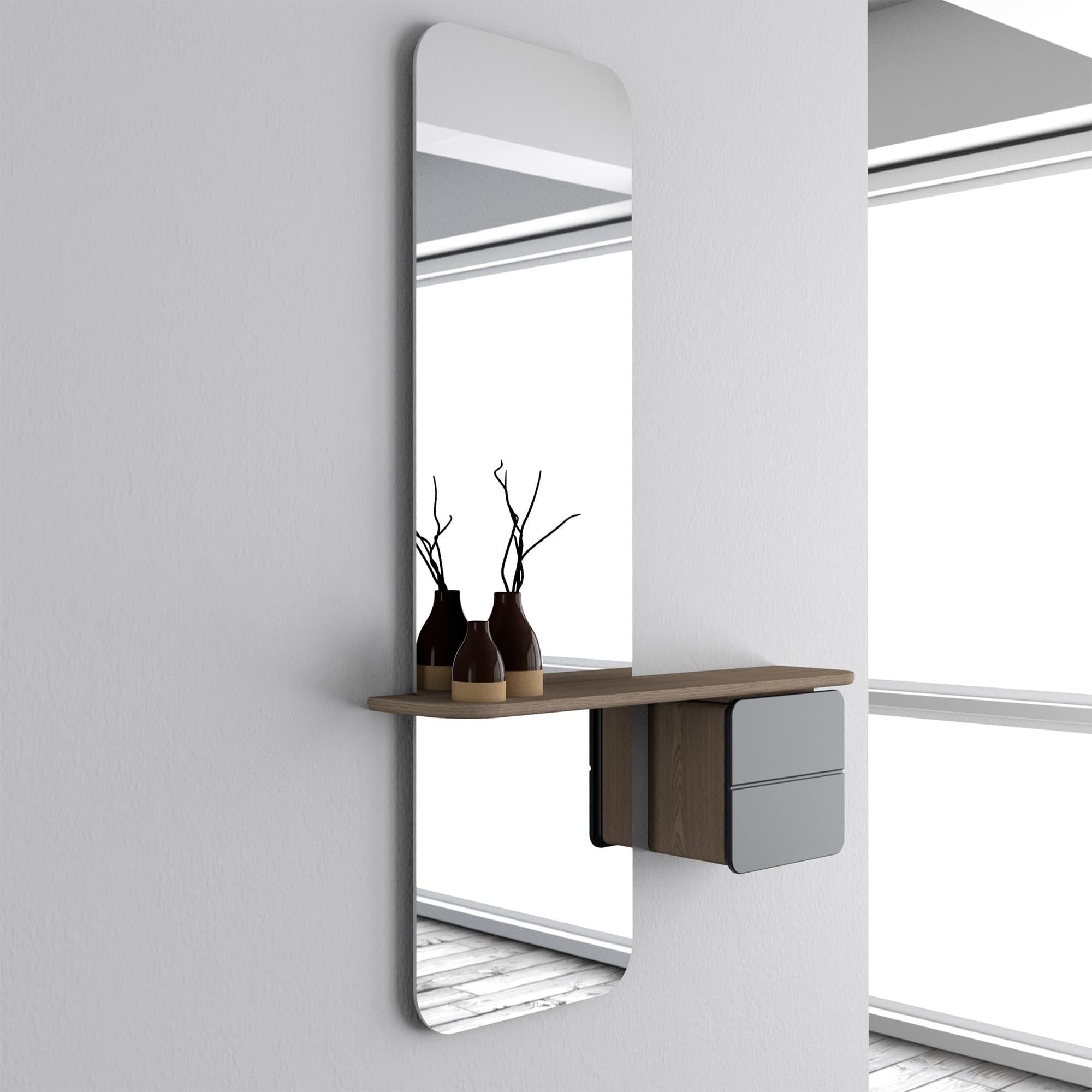 meuble et miroir d entree one more look