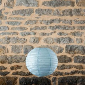 Location-Boule-chinoise-35cm-bleu-ciel-12exemplaires