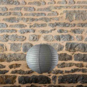 Location-Boule-chinoise-35cm-gris-fonce-9exemplaires