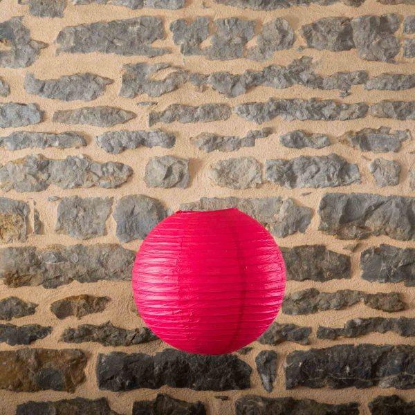 Location-Boule-chinoise-35cm-rose-fushia-7exemplaires