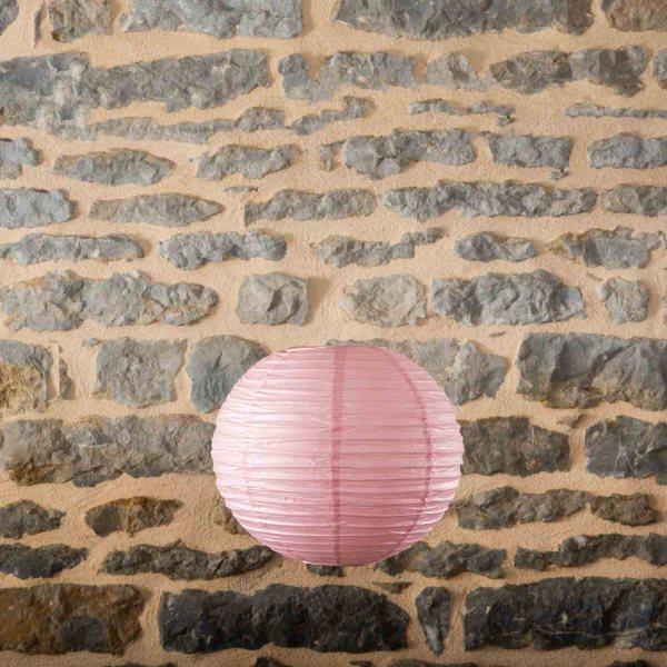Location-Boule-chinoise-35cm-rose-poudre-10exemplaires