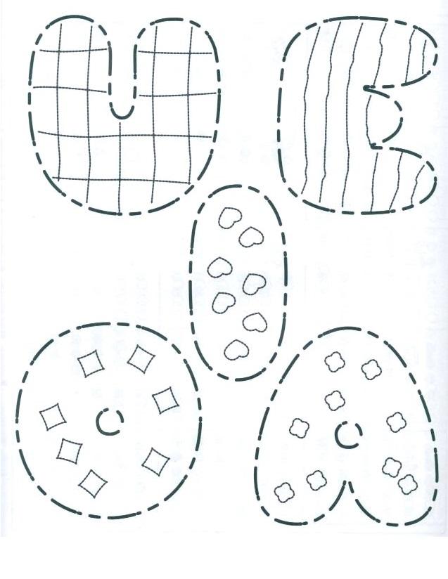 Dibujos De Vocales Para Colorear Para Ninos De Preescolar