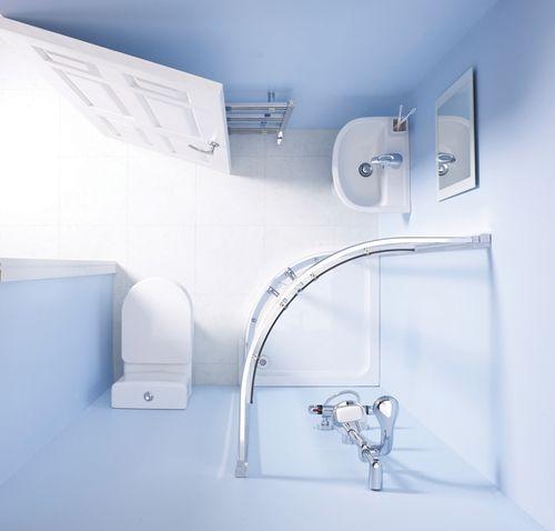 Un cuarto de baño completo en 3m2 - Decomanitas