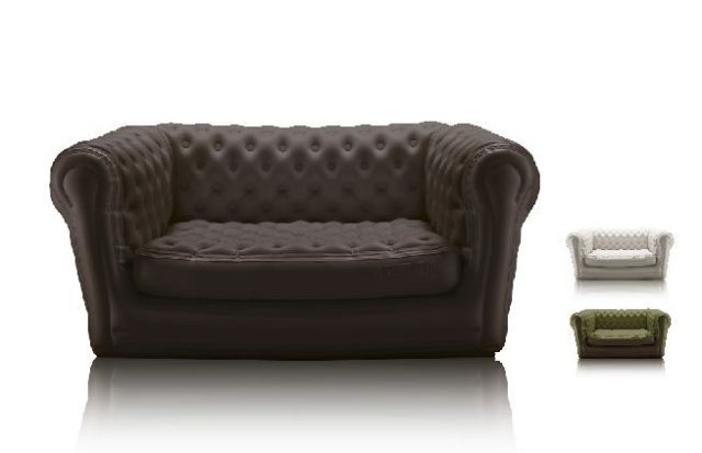 sofa chesterfield hinchable