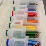 Idea de reciclaje creativo para habitaciones de niños
