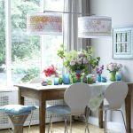 Casas modernas con flores y vidrio