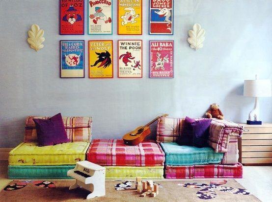 habitacines de niños con toque vintage 2