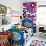 habitaciones de niños con toque vintage