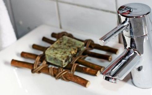 jabonera rustica para spa en casa 1
