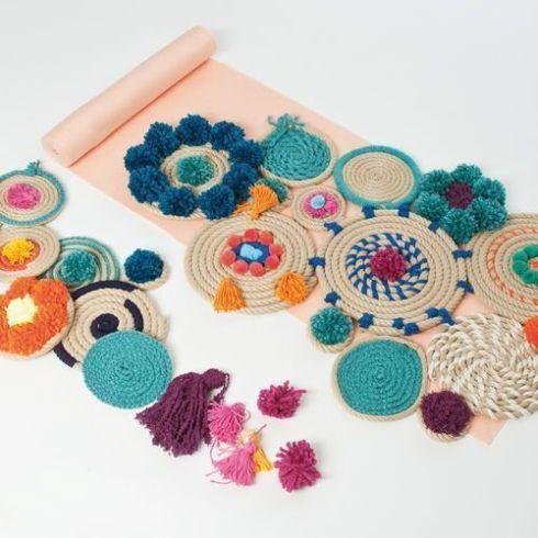 Manualidades con cuerda para decoraci n boho chic - Boho chic decoracion ...