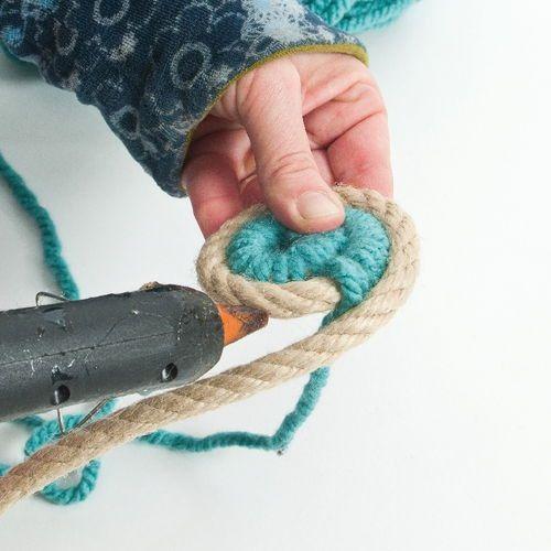 Manualidades con cuerda para decoración boho chic 5