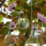 reciclar bombillas usadas para decorar 3