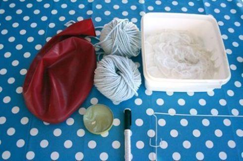 como hacer una lampara con cuerda para decorar moderno 1