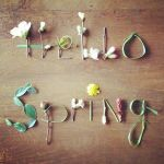 """Decoración efímera para tu casa """"Hello Spring"""""""