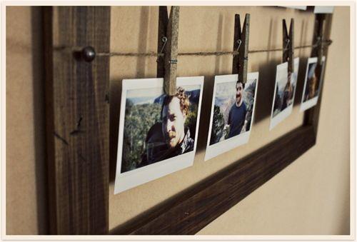 Marcos de fotos rustico chic para decorar 2