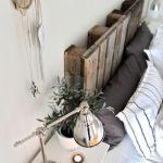 Palets para decorar dormitorios como cabeceros de cama