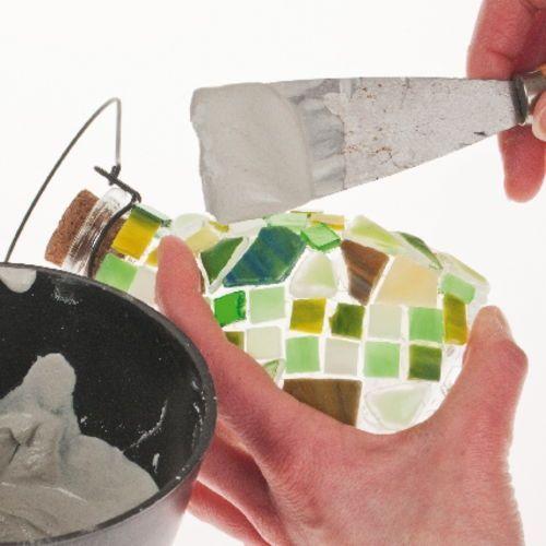 Trabajo fácil para decorar con mosaico 3