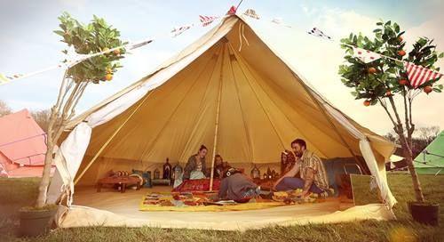ideas decoración camping vintage 20