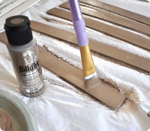 tutorial DIY espejo sol vintage estilo años 60 d