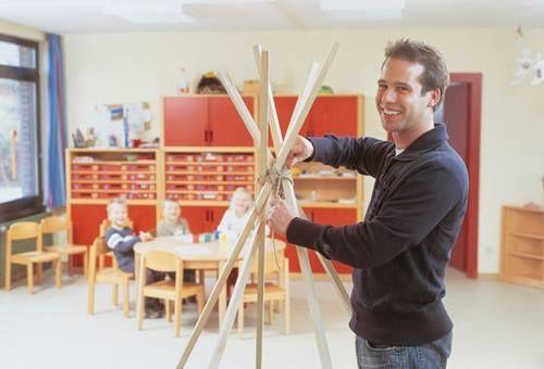 un tipi DIY para decorar habitaciones de niños 4