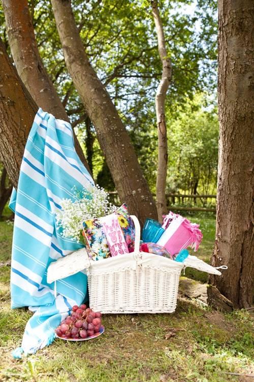 Idea de decoración para exteriores ¡el picnic es tendencia! 4