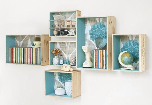 Tutorial Como Decorar Con Cajas De Madera Decomanitas - Como-decorar-madera