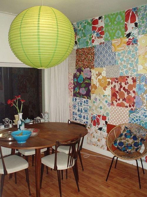 ideas patchwork para paredes vintage 12