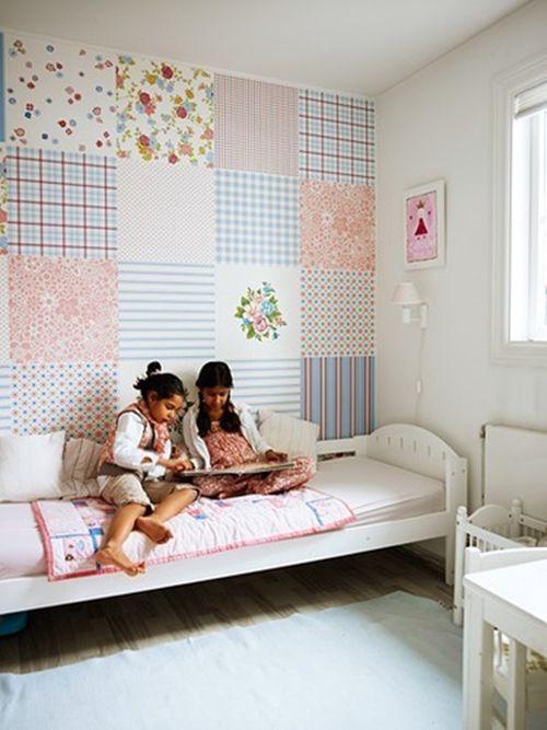 ideas patchwork para paredes vintage 5