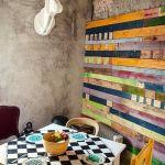 Mueble reciclado para una decoración joven y divertida
