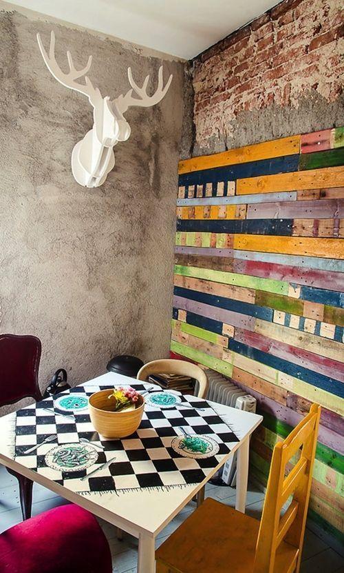 mueble reciclado para una decoracion joven y divertida