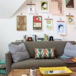 Colocar cuadros para decorar paredes de forma original 1