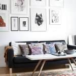 Colocar cuadros para decorar paredes de forma original 5