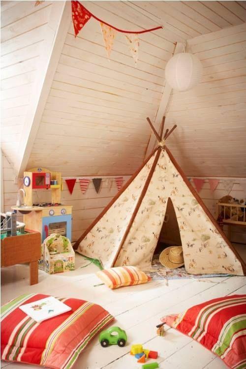Decorar habitaciones de niños con tipis 2