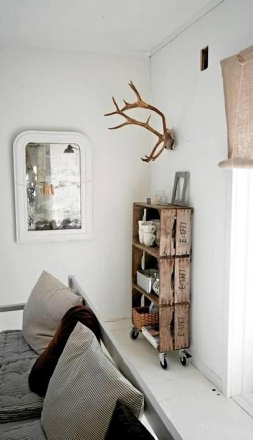 Ideas de decoracion con cajas de madera para fruta 11