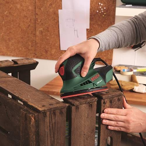 Mueble auxiliar diy hecho con cajas de madera para el for Muebles con cajas de madera