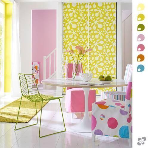 Nuevos colores en decoracion para interiores de casa 2
