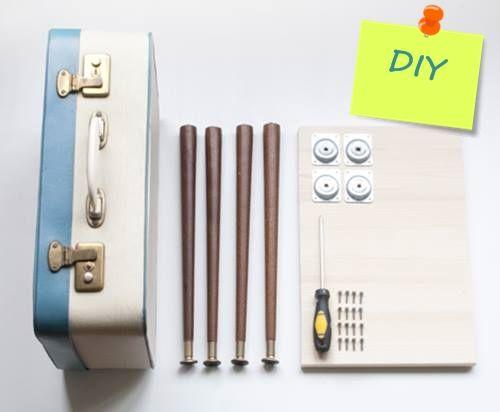 ideas para decorar con maletas antiguas 5
