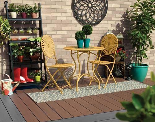 ❀ Ideas para decorar terrazas y balcones ❀ 1