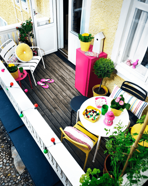 ❀ Ideas para decorar terrazas y balcones ❀ 2