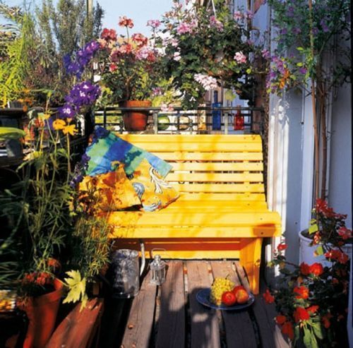 ❀Ideas para decorar terrazas y balcones❀