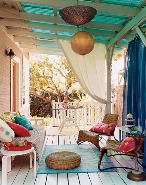 Crear un salón al aire libre 1