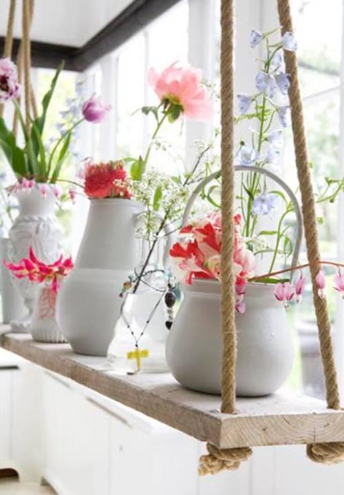 Inusitados usos para teteras de porcelana en decoración vintage3