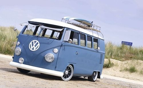 Vacaciones sugerentes ¡casa de verano con la vieja VW campervan! 5