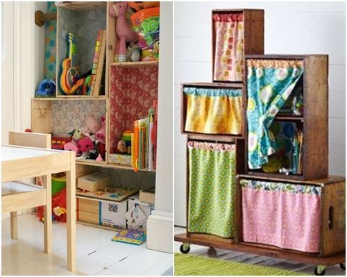 decorar cajas de madera para infantiles