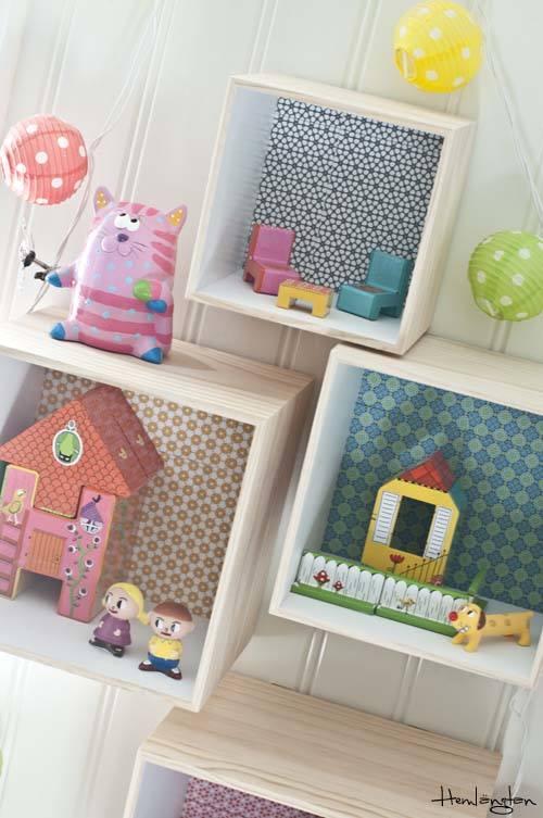 Decorar cajas de madera para habitaciones infantiles - Habitaciones infantiles decoracion ...