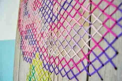 pintar paredes con esquemas de punto de cruz 5