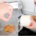 como hacer velas decorativas para otoño 3